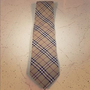 Burberry men's tie